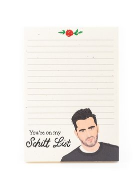 Schitt List Notepad