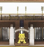 Cardboard Tunnel Book Tiger Stadium