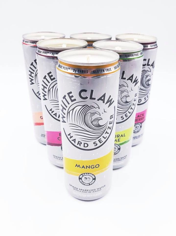 White Claw Candle
