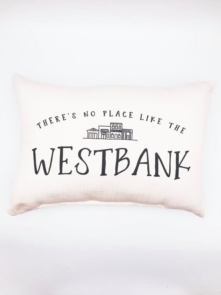 No Place Like the Westbank Pillow