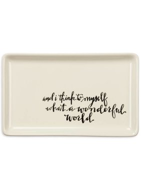 Wonderful World Trinket Tray