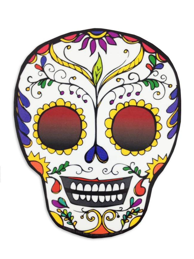 Sugar Skull Car Magnet