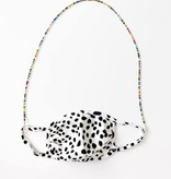 Glass Beaded Face Mask Chain, Small