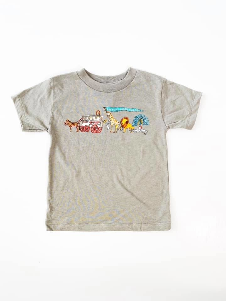 They All Asked For You Zoo Parade Tee, Kids
