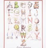 Cajun Alphabet Poster