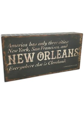 New Orleans Box Sign