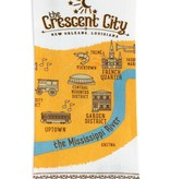 Crescent City Kitchen Towel