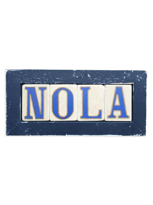Preservation Tile Co. NOLA Framed Tiles