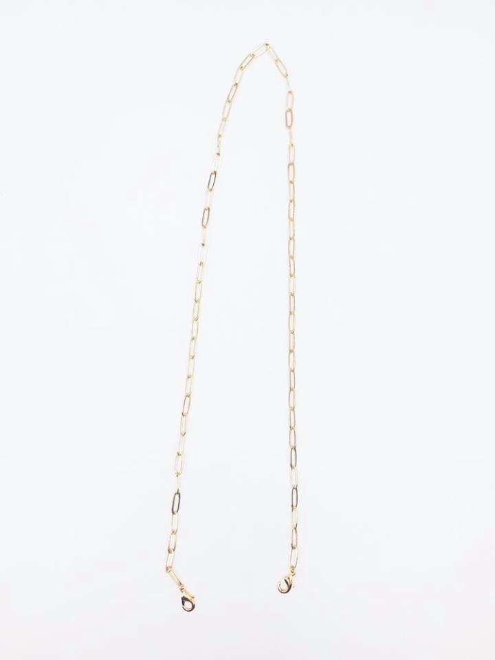 Face Mask  Chain, Gold