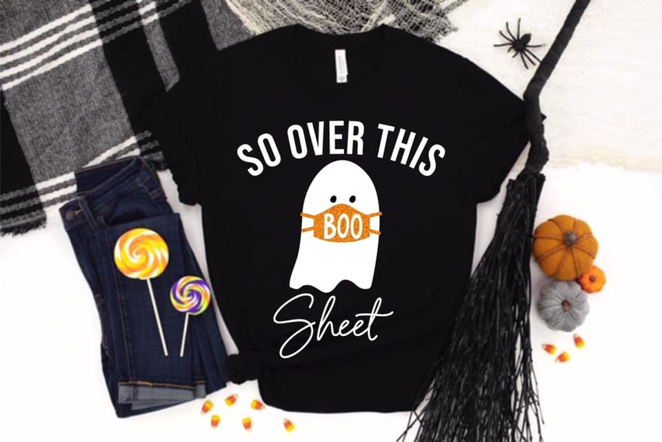Over This Boo Sheet Tee
