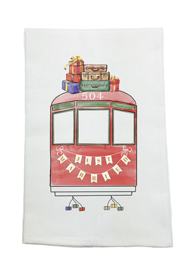 Nola Tawk Just Married Towel