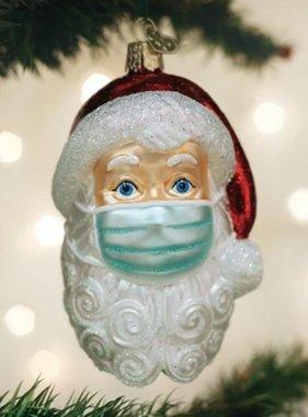Masked Santa Ornament *Pre-Sale*