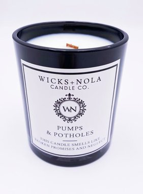 Pumps & Potholes Candle