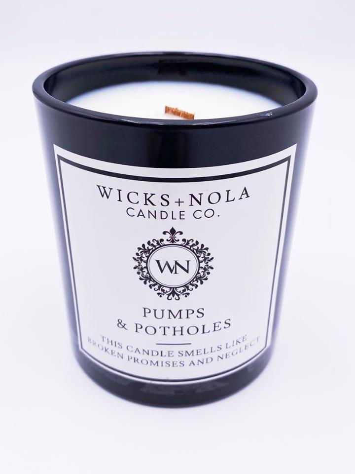 Pumps & Potholes Candle