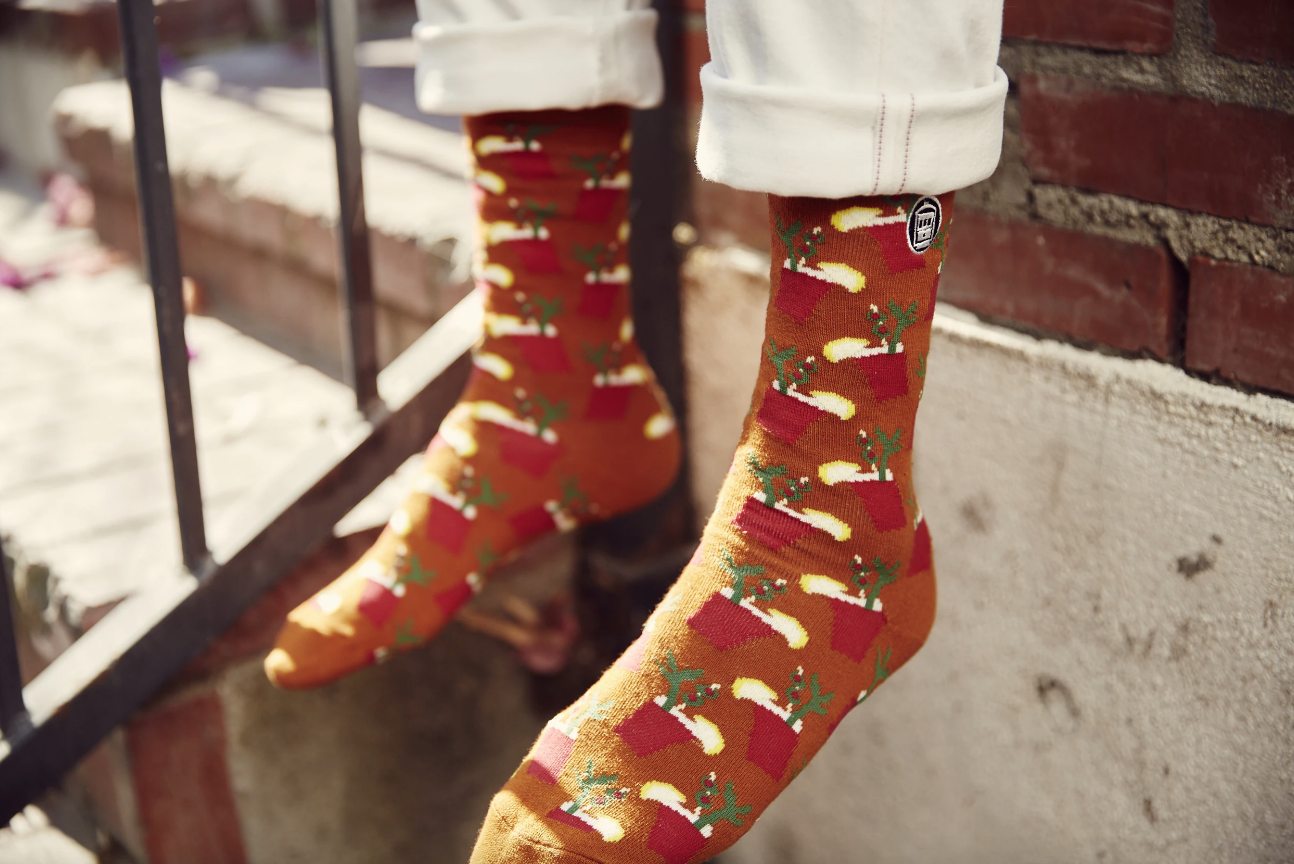 Bonfolk Bloody Mary Socks