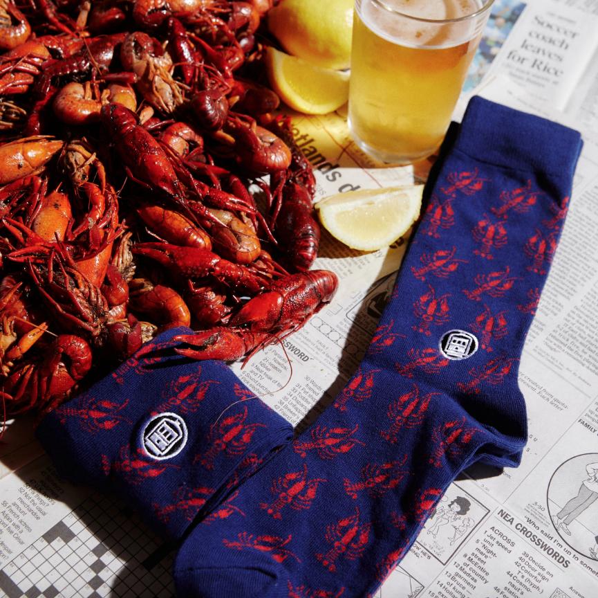Bonfolk Crawfish Socks