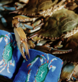 Bonfolk Blue Crab Socks