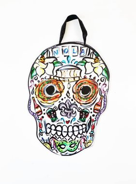 Sugar Skull Door Hanger