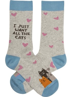 I Just Want All The Cats Socks