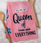 Queen Of Everything Towel, Pink