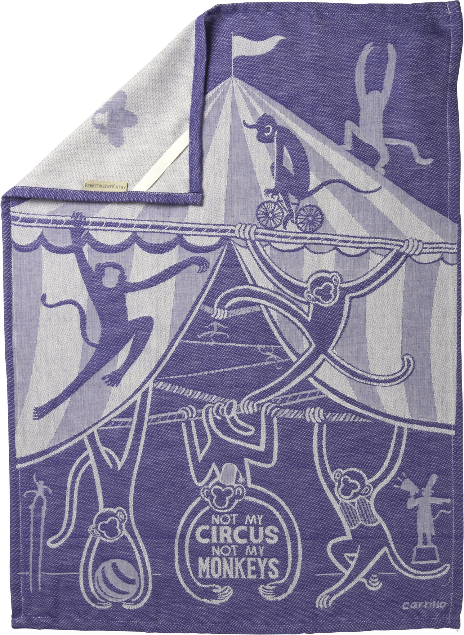 Not My Circus Towel