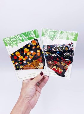 Halloween & Thanksgiving Reversible Face Mask
