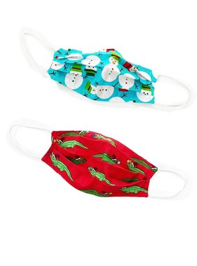 Reversible Christmas Face Mask
