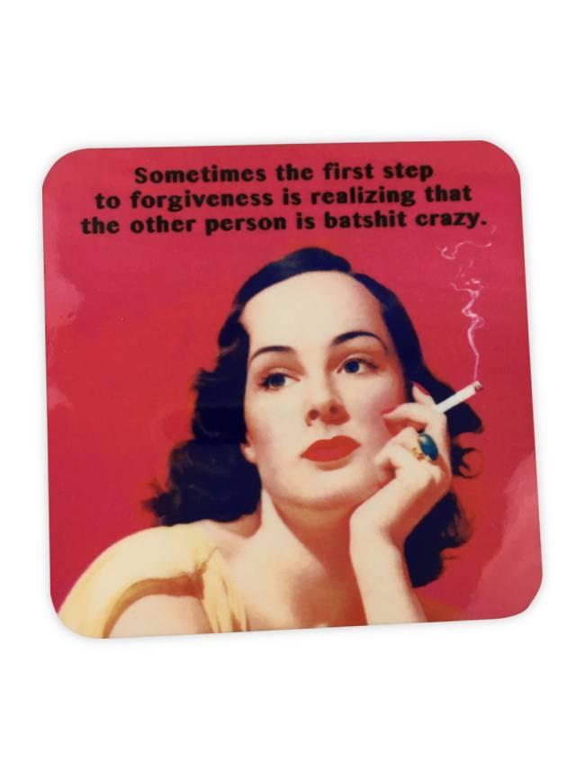 Forgiveness Cork Coaster
