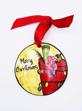 Mary Christmas Ornament