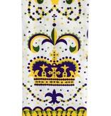 Mardi Gras Crown Towel