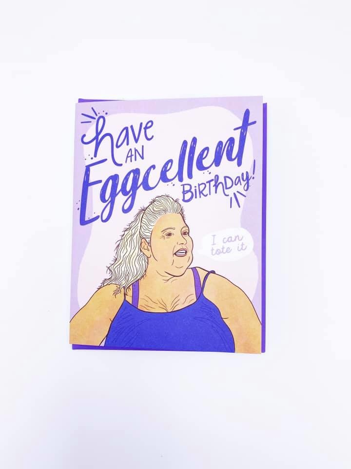 Eggcellent Birthday Card