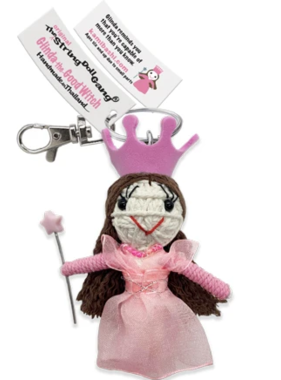 Glinda the Good Witch Keychain