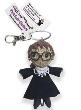Ruth Bader Ginsburg Keychain
