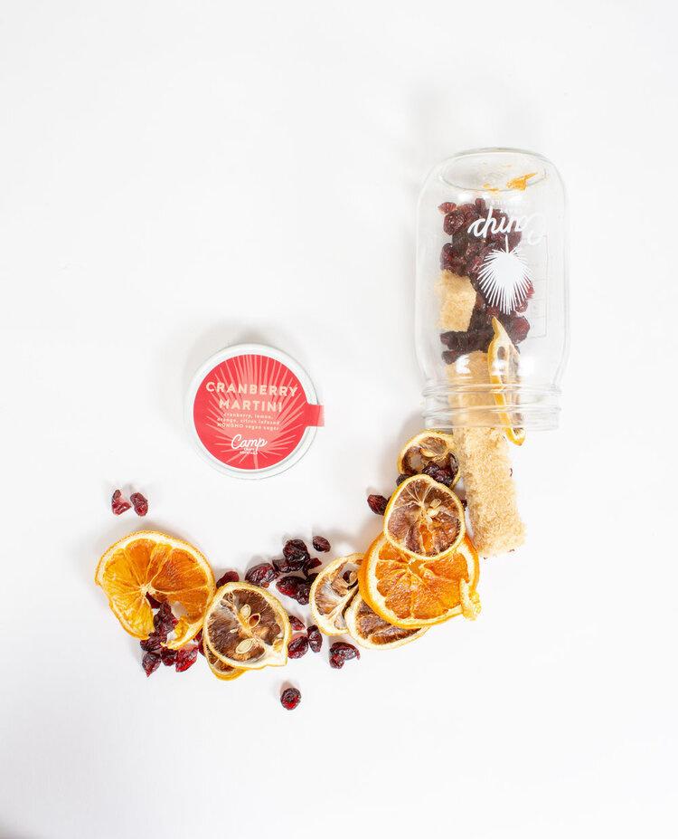 Cranberry Martini Craft Cocktail