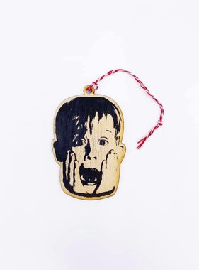 Celebrity Wood Ornament, McCaully Culkin