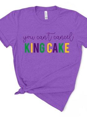 Can't Cancel King Cake Tee *Pre-Sale*