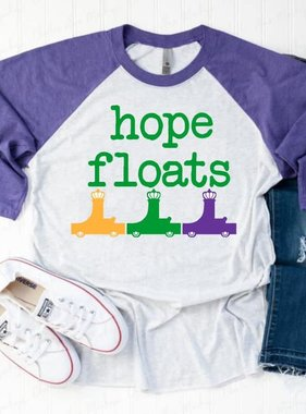 Hope Floats Baseball Tee