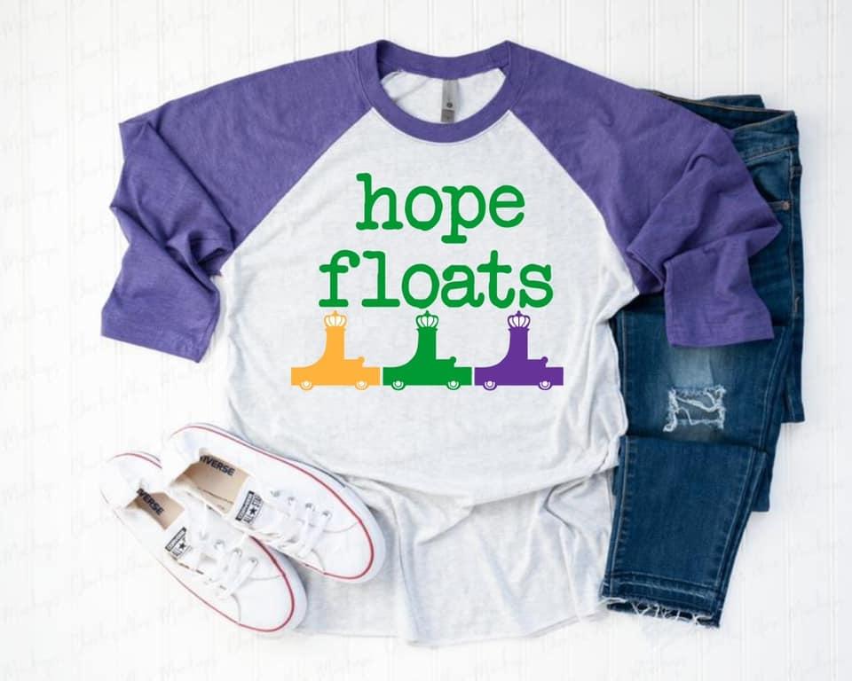 Hope Floats Baseball Tee *Pre-Sale*