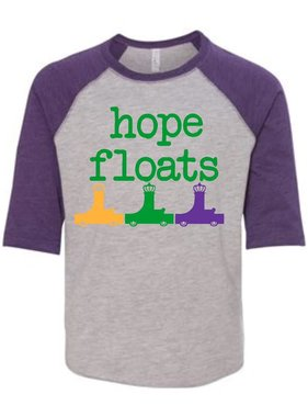 Hope Floats Baseball Tee, Kids