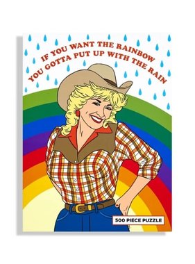 Cowgirl Rainbow Puzzle