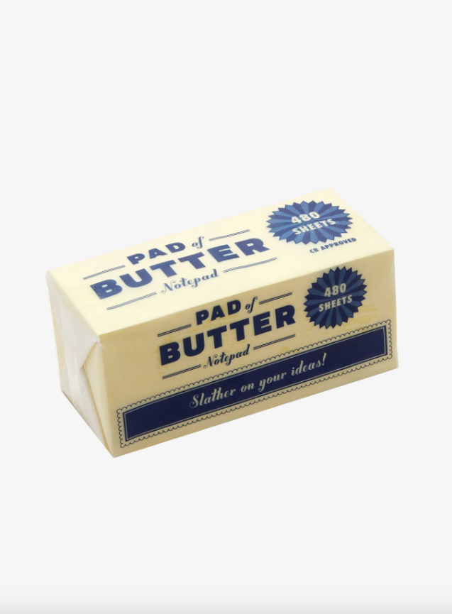 Pad Of Butter Notepad