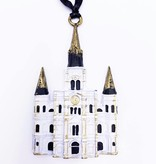 Pewter Cathedral Ornament