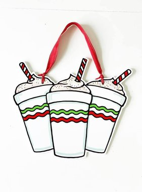 Eggnog Daiquiri Door Hanger