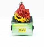 Dumpster Fire Ornament