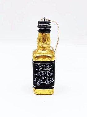 Whiskey Bottle Ornament