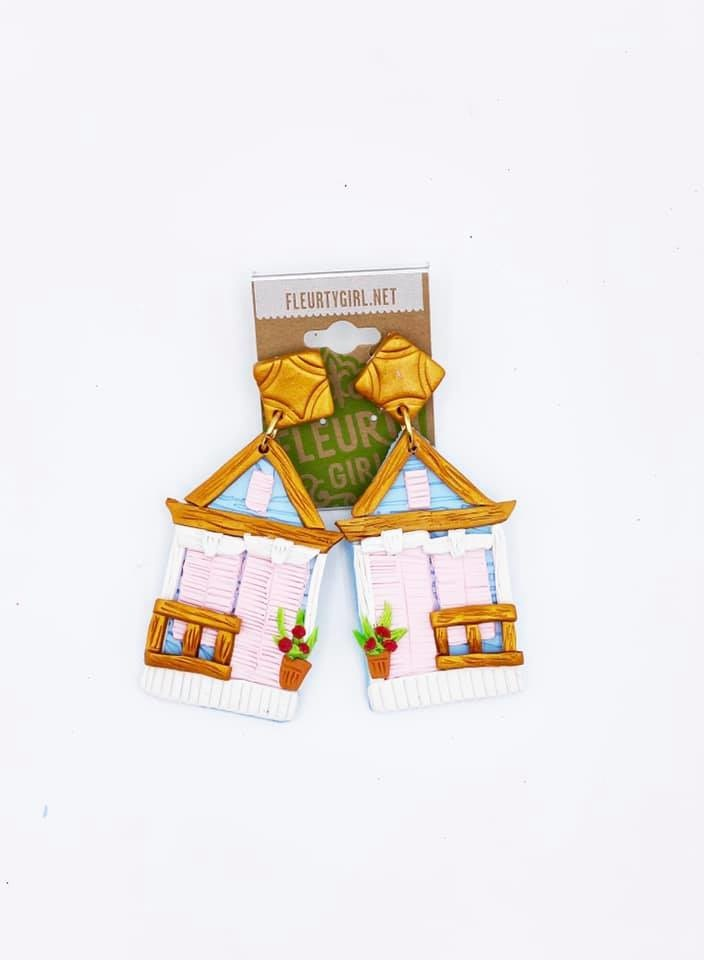 Shotgun House Earrings