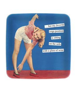 Anne Taintor Yoga Mini Tray