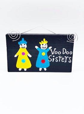 Voodoo Sisters Wood Art