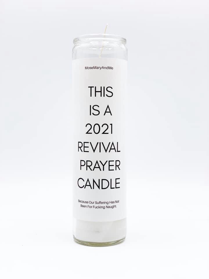 Mose Mary & Me 2021 Revival Candle