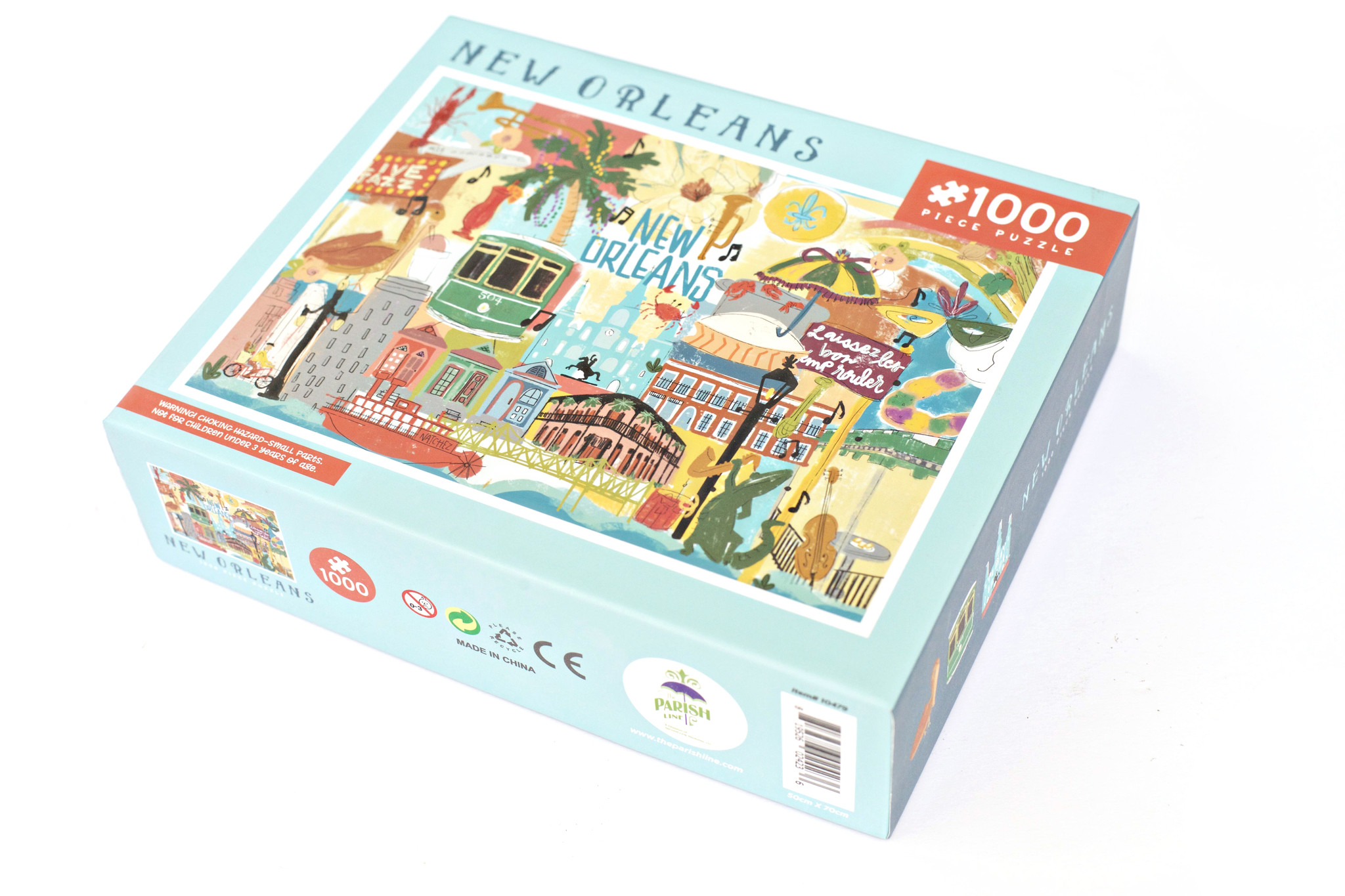 New Orleans Icons Puzzle